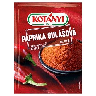 Kotányi Paprika gulášová mletá 25g