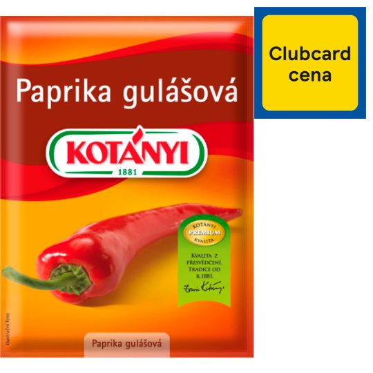 Kotányi Ground Goulash Paprika 25g