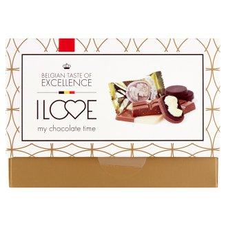 I love my chocolate time kolekce jednotlivě balených čokolád 30 ks 246g