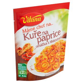 Vitana Máme chuť na... Chicken and Pasta with Paprika Sauce Mix 167g