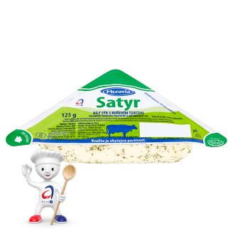 Moravia Satyr Spicy White Cheese 125g