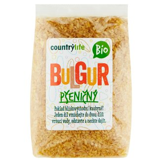 Country Life Organic Wheat Bulgur 500g