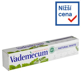 Vademecum zubní pasta Natural White 75ml