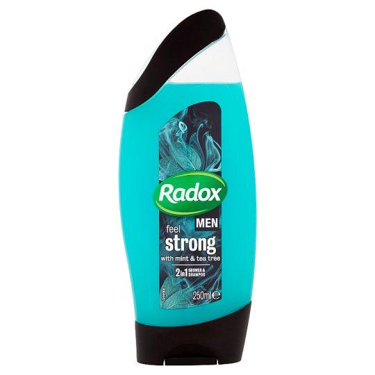 Radox Men Feel Strong 2v1 pánský sprchový gel a šampon 250ml