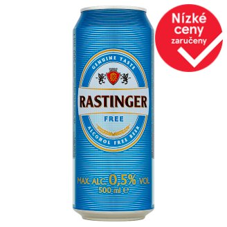 Rastinger Free Non-alcoholic Beer Bright 500ml