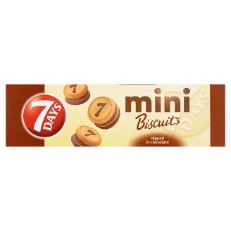7 Days Mini Biscuits polomáčené v čokoládě 100g