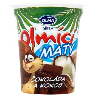 Olma Olmíci Maty smetanová přesnídávka s čokoládou a kokosem 110g