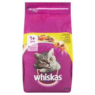 Whiskas Tasty Stuffed with Chicken Granules 1+ Age 3.8kg