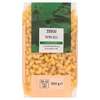 Tesco Italian Spirali Pasta Semolina Dried 500g