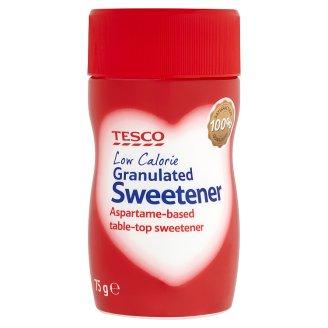 Tesco Granulated Sweetener Aspartame-Based 75g