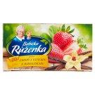 Babička Růženka Ovocno-bylinný čaj s příchutí jahod s vanilkou 20 x 2g