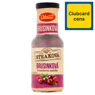 Vitana Steak Cranberry Sauce 250ml