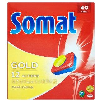 Somat Gold Prostředek na automatické mytí nádobí / tablety 40 ks 760g