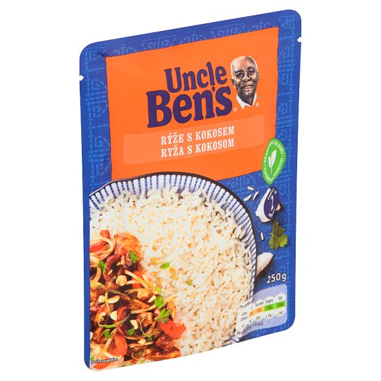 Uncle Ben's Rice with Coconut 250g