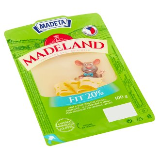 Madeta Madeland Fitness Slices 100g