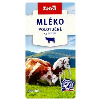 Tatra Mléko polotučné 1,5% tuku 500ml