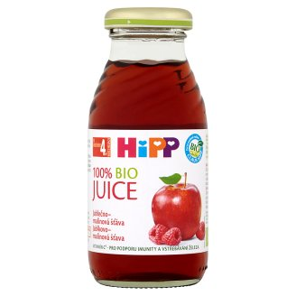 HiPP 100% Bio jablečno-malinová šťáva 0,2l