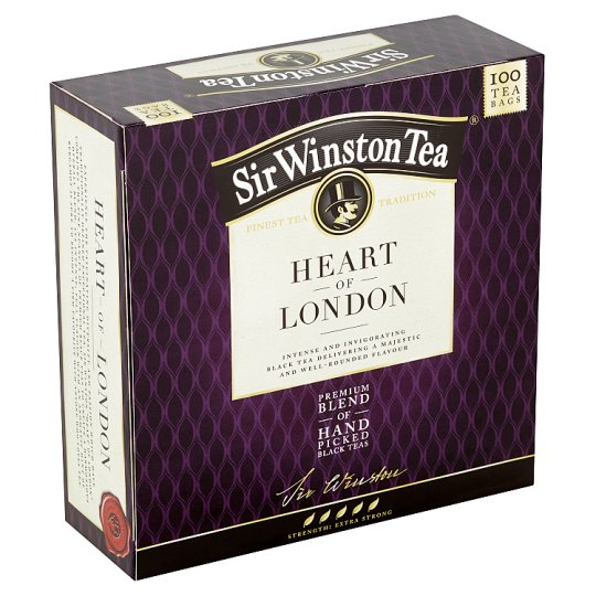 Sir Winston Tea Heart of London, 100 sáčků, 200g