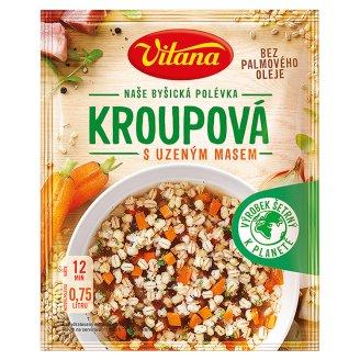 Vitana Kroupová s uzeným masem polévka 57g