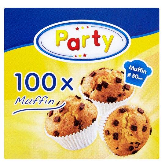 Select Party Muffin Cukrářské košíčky na pečení 50 x 27 mm 100 ks