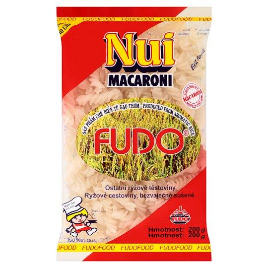 Fudo Nui macaroni ostatní rýžové těstoviny spirály 200g