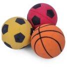 Petface Throw & Fetch Sponge Balls 3 pcs