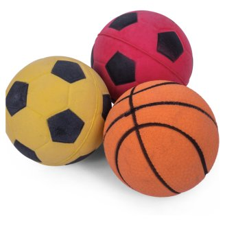 Petface Throw & Fetch Sponge Balls 3 pcs