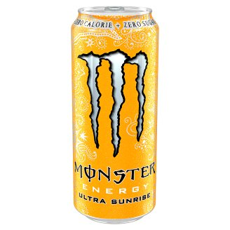 Monster Energy Sunrise Ultra-a Carbonated Energy Drink 500ml