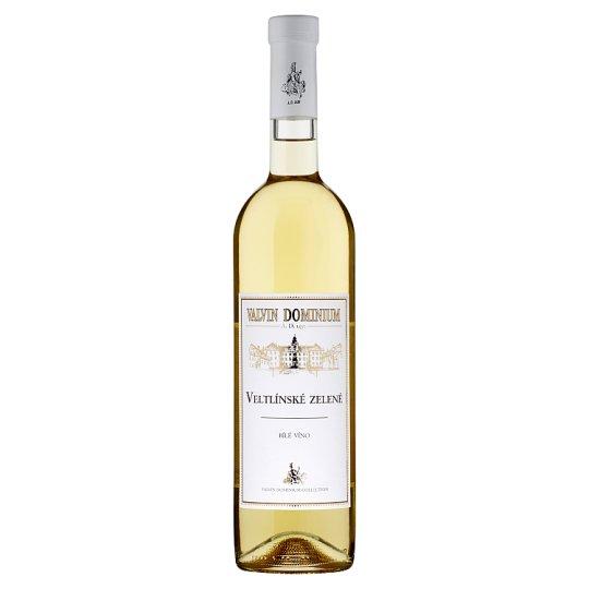 Valvin Dominium Veltlínské zelené bílé víno suché 0,75l
