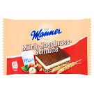 Manner Wafer Slices Filled with Hazelnut Cream and Milk 5 x 25g