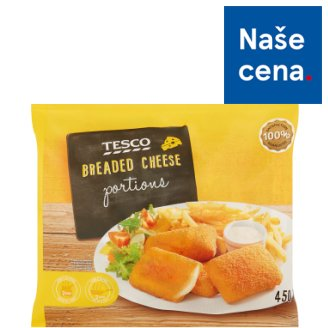 Tesco Obalovaný sýr 450g