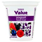 Tesco Value Yogurt Forest Mix 125g