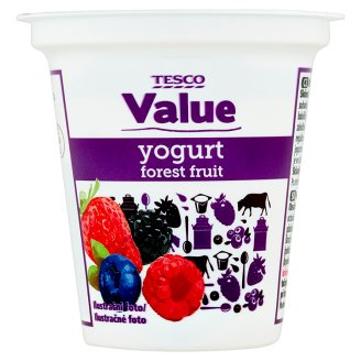 Tesco Value Jogurt lesní směs 125g