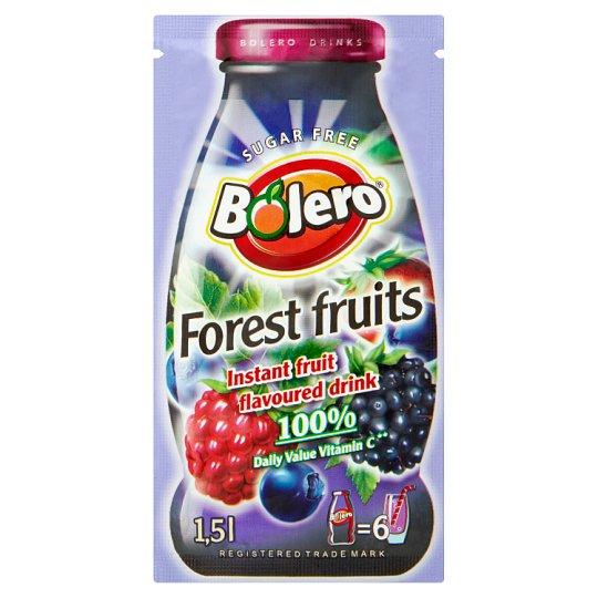 Bolero Forest Fruits Instant Fruit Flavoured Drink 9g