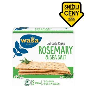 Wasa Delicate Crisp Rosemary & Sea Salt 190g