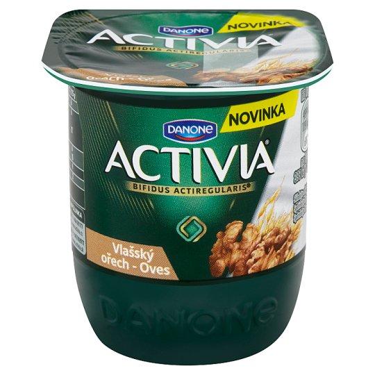 Danone Activia Jogurt s vlašskými ořechy a ovesnými vločkami 125g