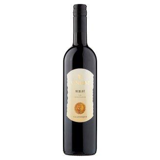 Vinium Velké Pavlovice Classique Merlot víno červené polosuché 0,75l