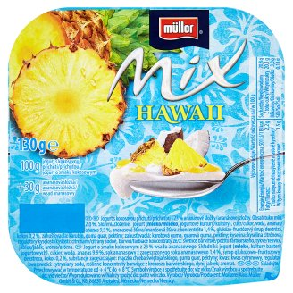 Müller Mix Hawai Yoghurt with Coconut Flavor 130g