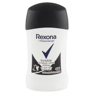 Rexona Invisible Black + White Antiperspirant 40ml