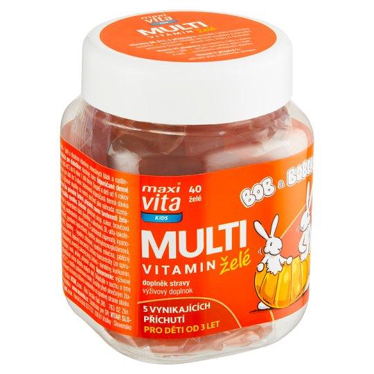 MaxiVita Kids Multivitamin Jelly 133g