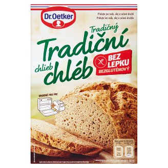 Dr. Oetker Tradiční chléb bez lepku 400g