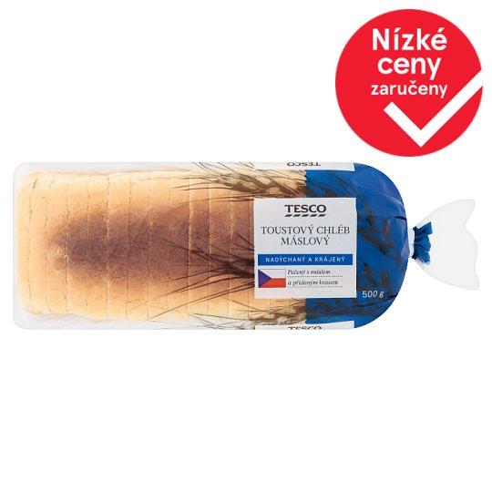 Tesco Butter Toast Bread 500g