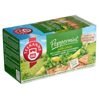TEEKANNE Peppermint with Lemon, bylinný čaj, 20 sáčků, 30g
