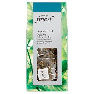 Tesco Finest Mátový čaj porcovaný 15 pyramidových sáčků 30g