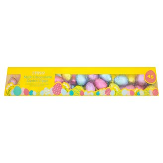 Tesco Milk Chocolate Easter Eggs 810g