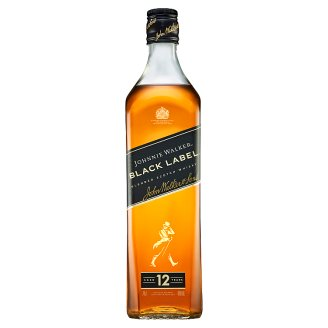 Johnnie Walker Black Label Blended Scotch Whisky Aged 12 Years 0.7L