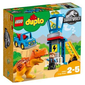 LEGO DUPLO Jurassic World T. rex a věž 10880