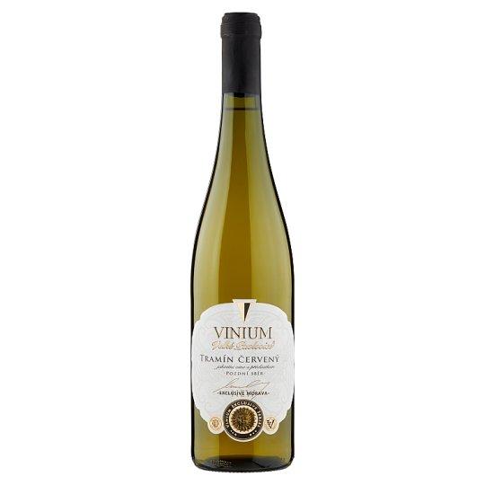 Vinium Exclusive Tramín červený jakostní víno s přívlastkem pozdní sběr bílé polosuché 0,75l