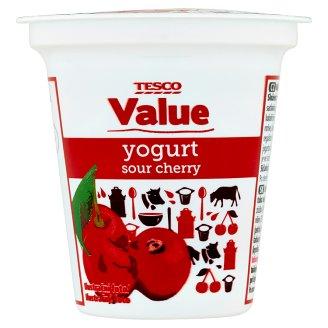 Tesco Value Yogurt Sour Cherry 125g