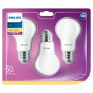 Philips Bulb LED 8 W (60 W) E27 Warm White 3 pcs